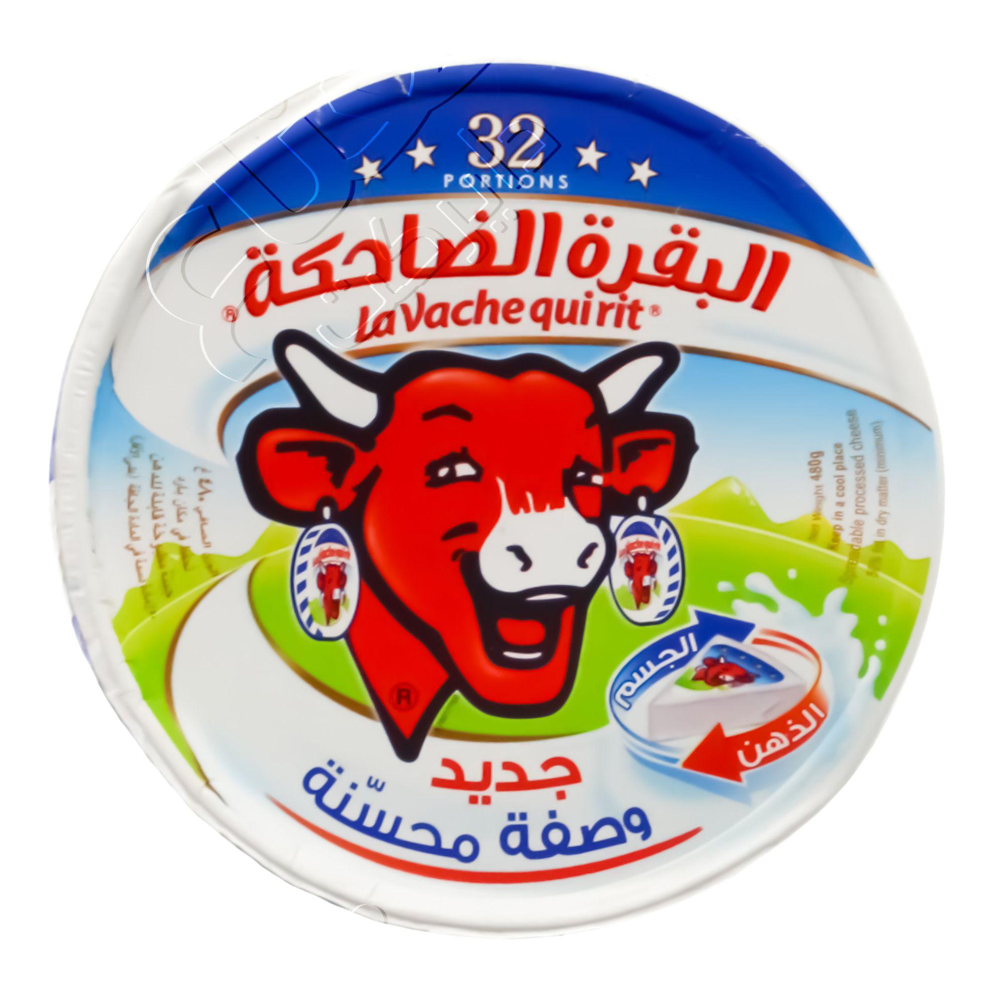 Nana نعناع جبنة مثلثات البقرة الضاحكة 32 حبة