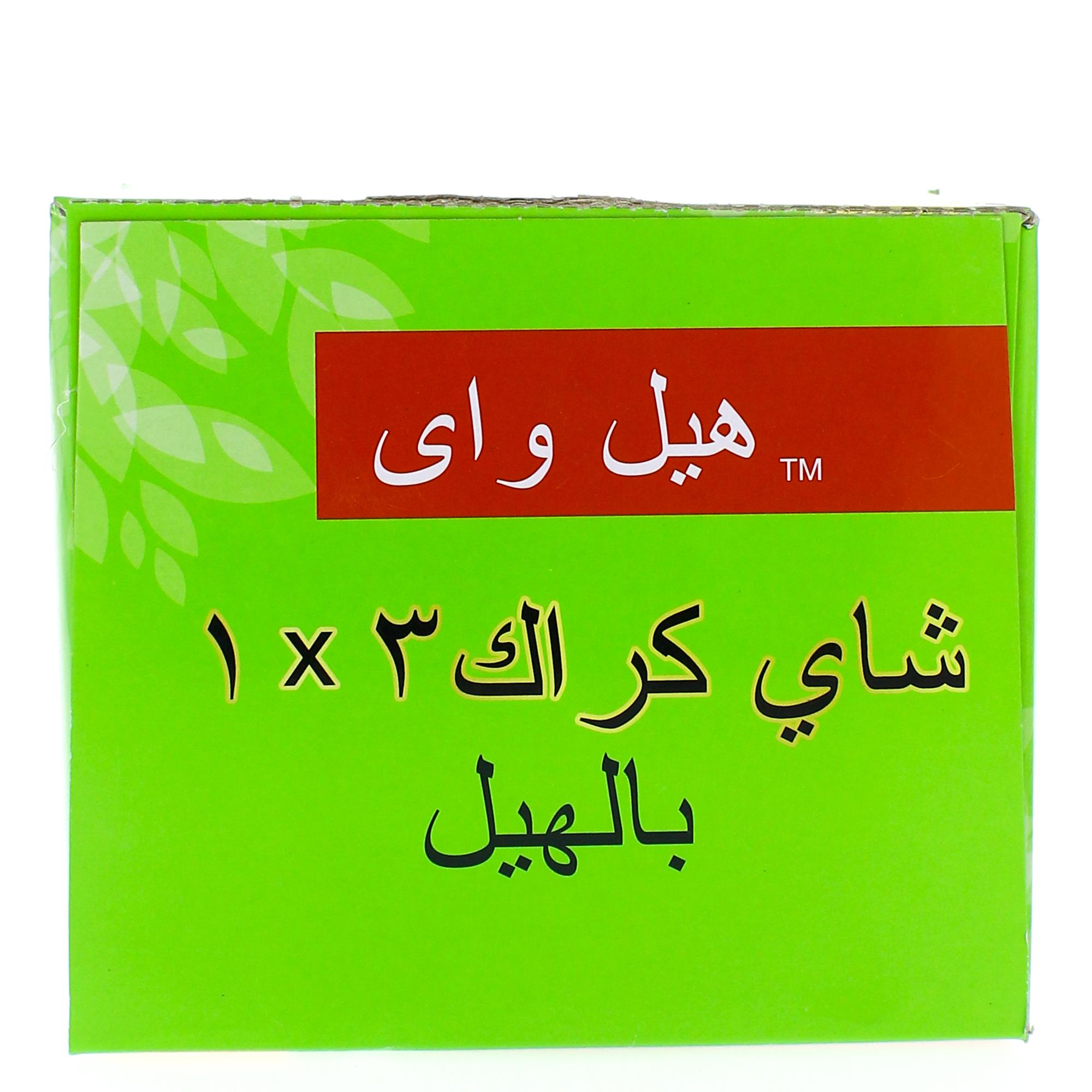 Nana نعناع - كرتون شاي هيل واي كرك بالهيل 18 جرام × 24